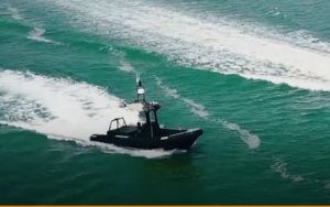 Unmanned Surface Vessel - Robosys Boomeranger